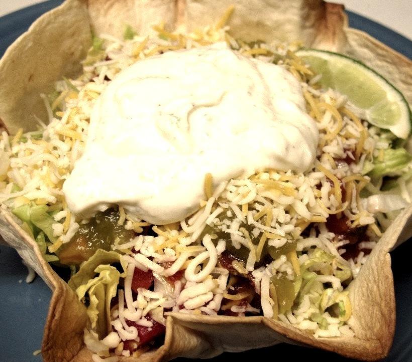 Ultimate Taco Salad Recipe (x)