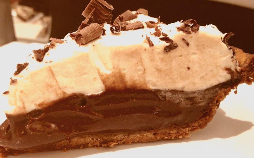 Silk Chocolate Cream Pie