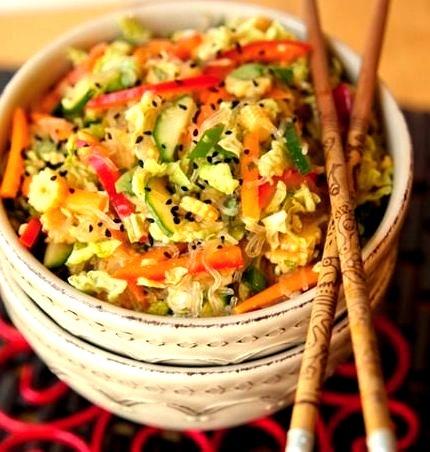 Springroll Salad