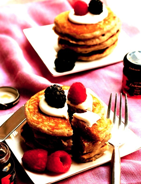 Recipe: Oat and Yogurt Pancakes