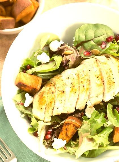Autumn Chicken Salad on We Heart It. http