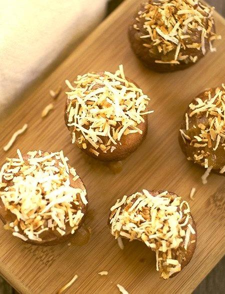 Kaya (Coconut Jam) Doughnuts