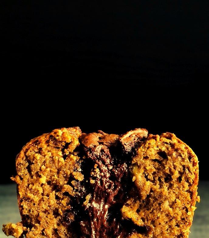 MOLTEN-CHOCO BANANA BREAD