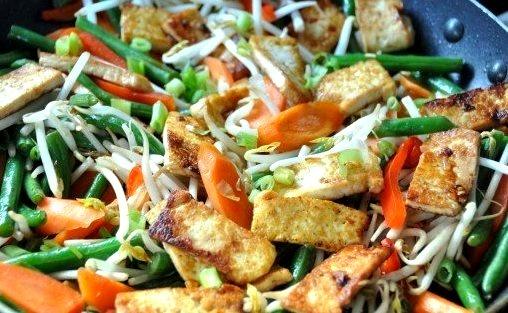 Vegan Stir-Fry As Requested!
