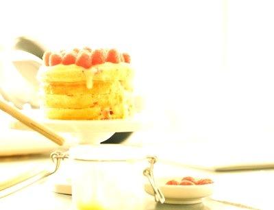Raspberry Lemon Cake I Am A Food Blog