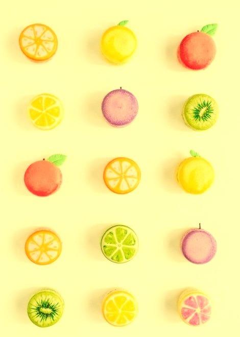 Fruit Macarons Sugar And Cloth