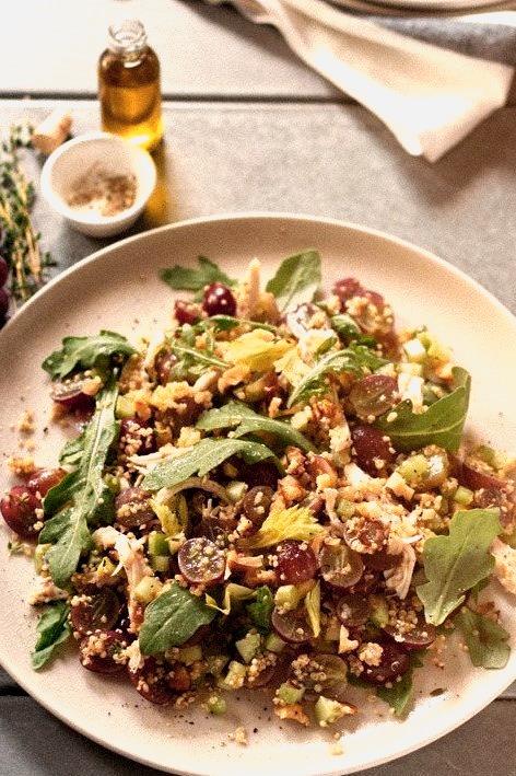 Grape Quinoa Chicken Harvest Salad