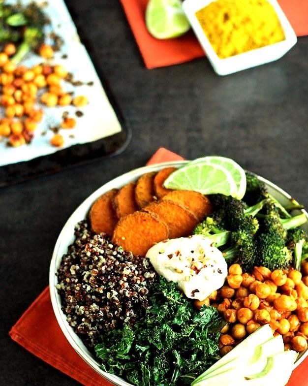 Roasted Veggie Quinoa Bowl http