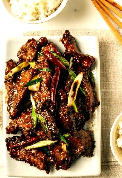 Mongolian Beef, An Authentic RecipeSource