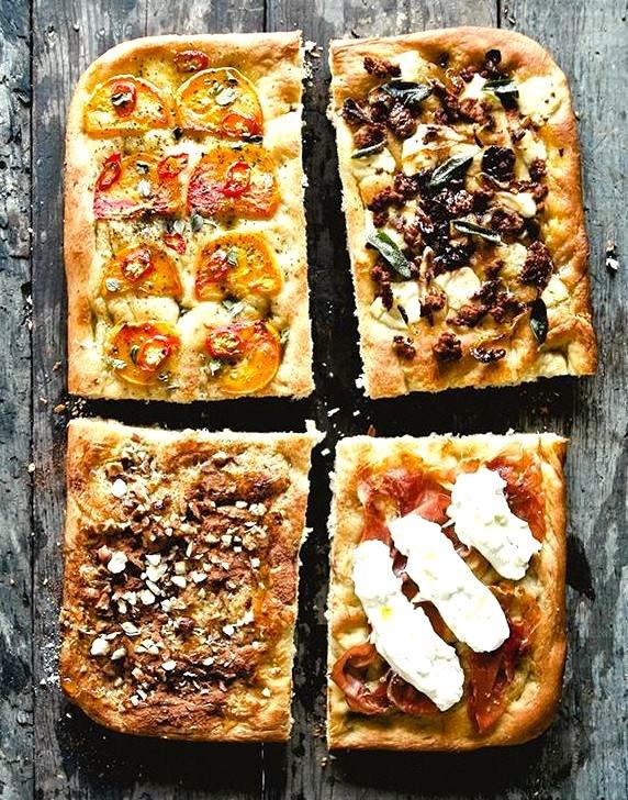 Focaccia Four Ways The Kitchy Kitchen
